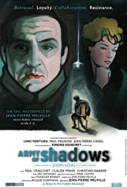 Army of Shadows (1969) Poster - Movie Forum, Cast, Reviews
