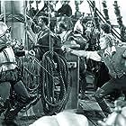 Errol Flynn and Gilbert Roland in The Sea Hawk (1940)