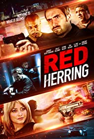 Vincent Pastore and Holly Valance in Red Herring (2015)
