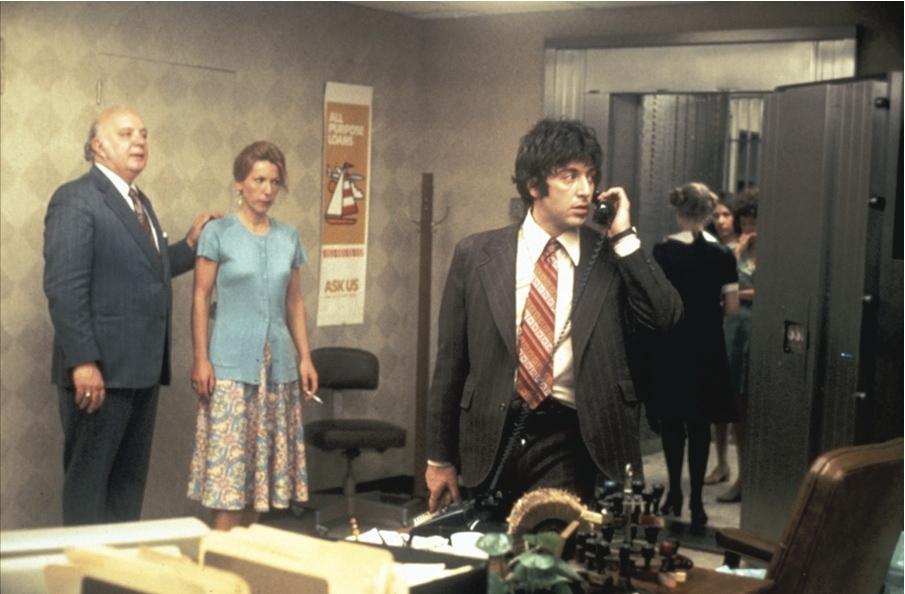 Al Pacino, Carol Kane, Penelope Allen, Sully Boyar, and Marcia Jean Kurtz in Dog Day Afternoon (1975)