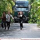 Cher, Matt Damon, and Greg Kinnear in Stuck on You (2003)