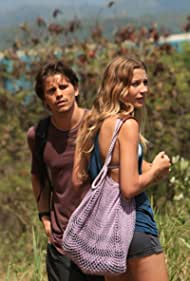 Jason Ritter and Sarah Roemer in The Event (2010)