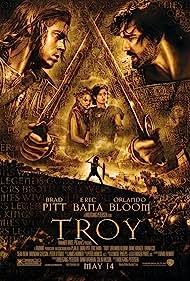 Brad Pitt, Sean Bean, Saffron Burrows, Eric Bana, Orlando Bloom, Rose Byrne, Diane Kruger, and Garrett Hedlund in Troy (2004)