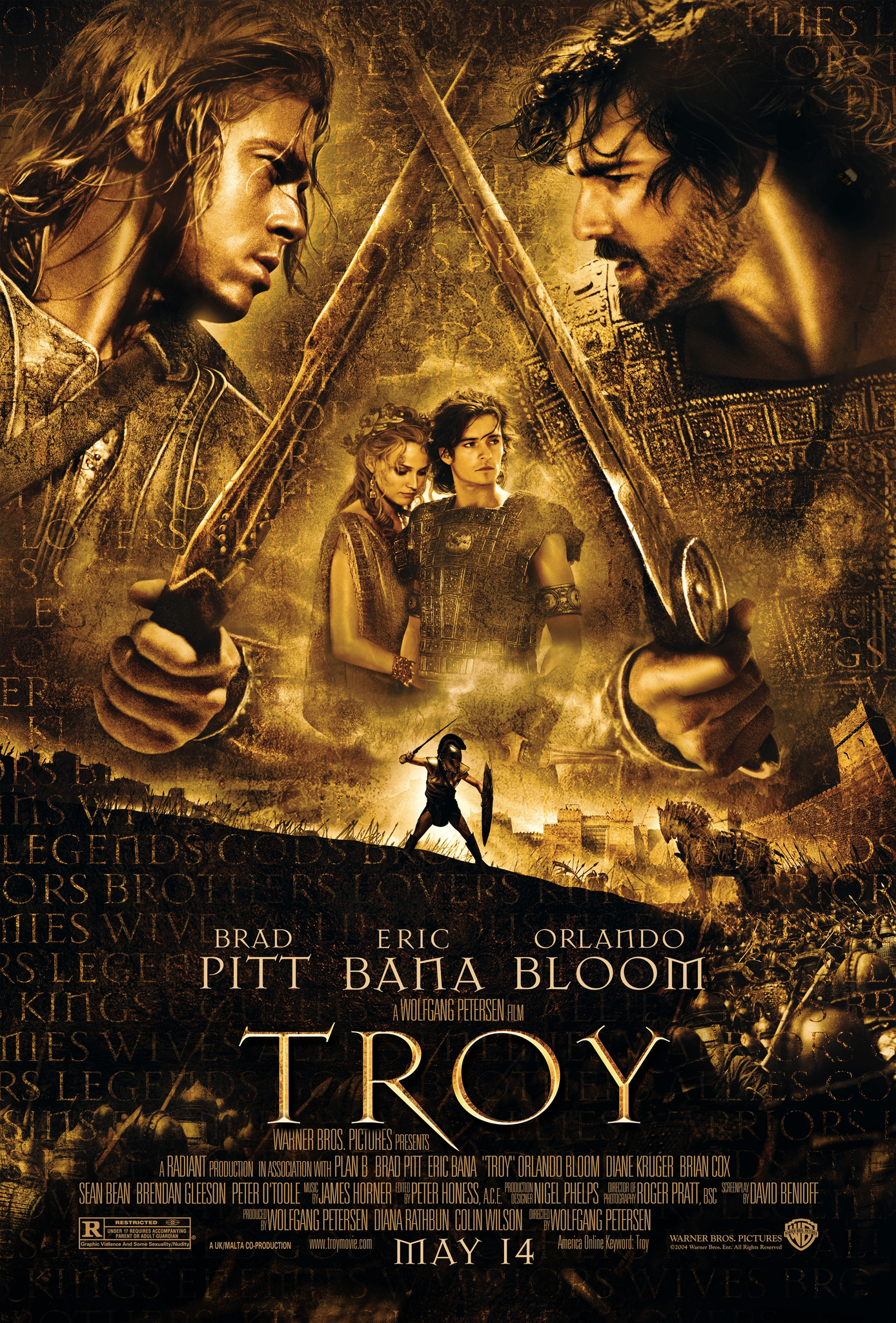 Troy (2004) BluRay 720p & 1080p