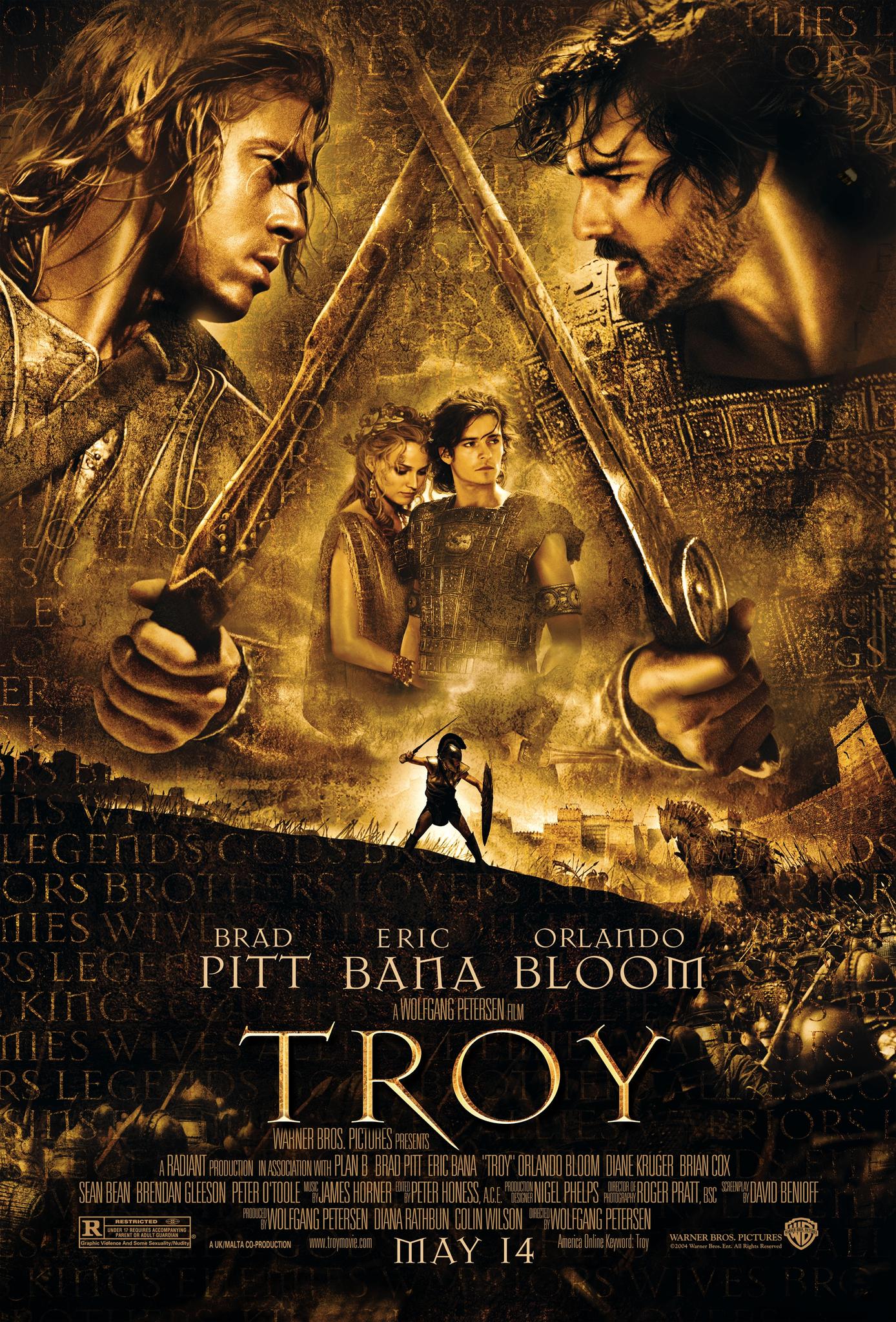 Troy (2004) BluRay 720p & 1080p