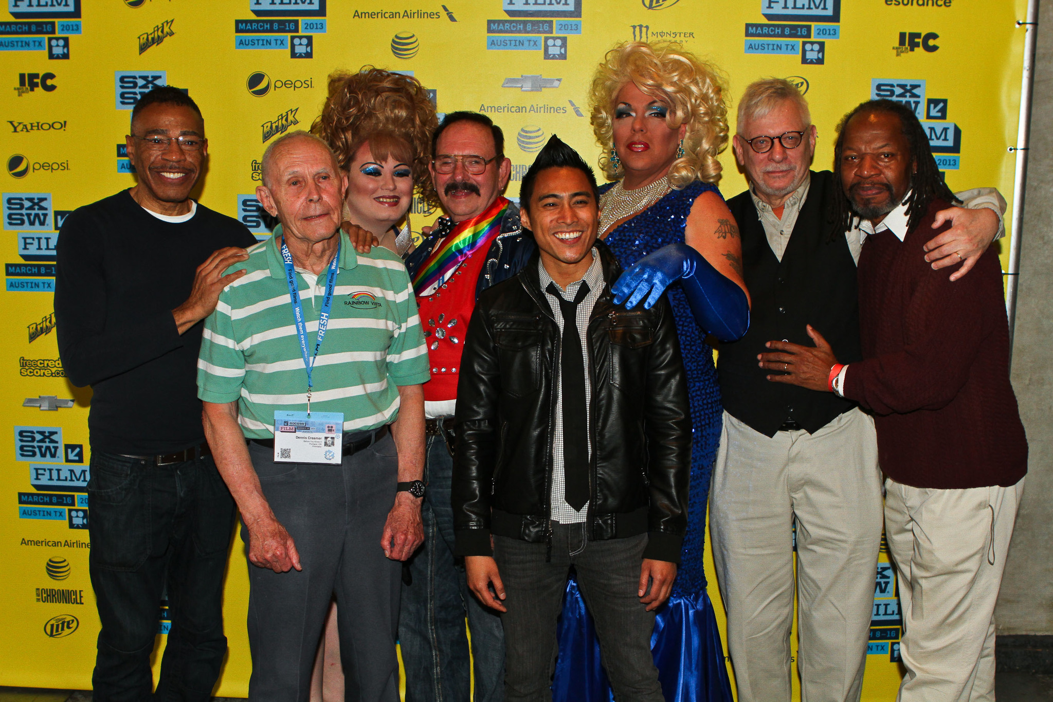 PJ Raval, Ty Martin, Dennis Creamer, Robert Mainor, Carly Davin Nation, and Cassie Cass at an event for Before You Know It (2013)