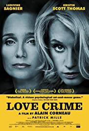 Crime d'amour Poster