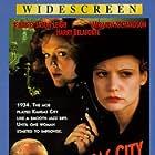 Jennifer Jason Leigh, Dermot Mulroney, Harry Belafonte, and Miranda Richardson in Kansas City (1996)