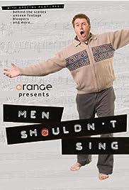 Men Shouldn't Sing Poster