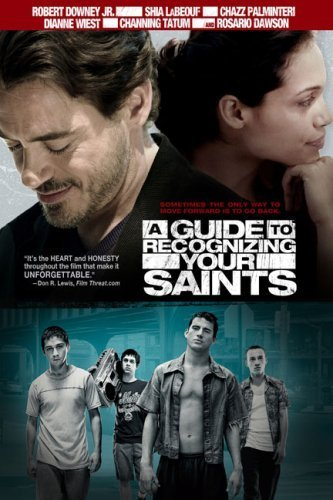 Robert Downey Jr., Rosario Dawson, Shia LaBeouf, Peter Anthony Tambakis, Adam Scarimbolo, and Channing Tatum in A Guide to Recognizing Your Saints (2006)