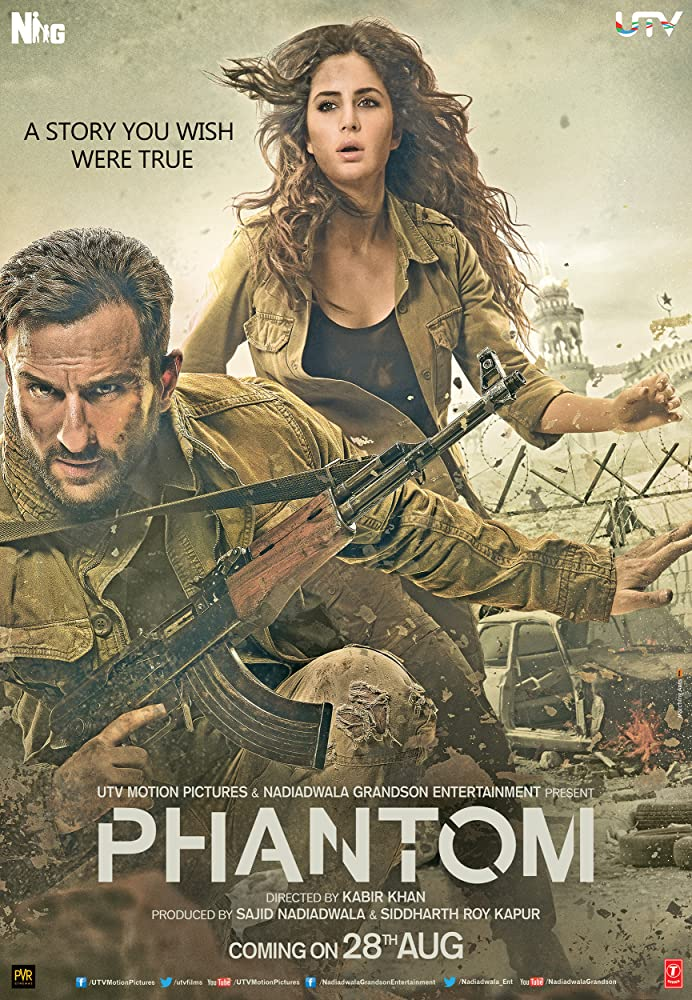 Phantom 2015 Hindi 450MB HDRip BluRay ESub Download