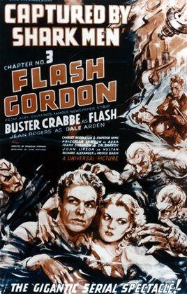"""""""Flash Gordon"""" Poster"""