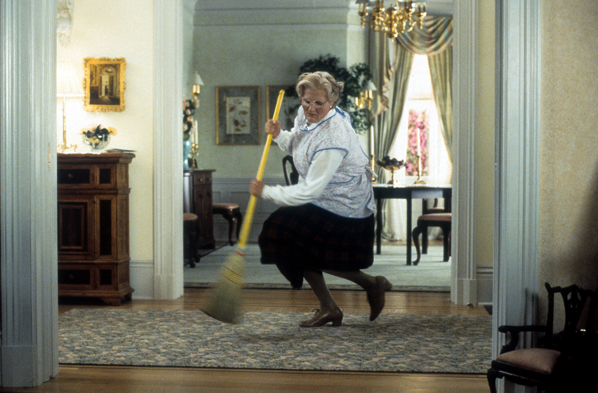 Robin Williams in Mrs. Doubtfire (1993)