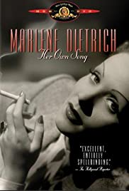 Marlene Dietrich: Her Own Song Poster