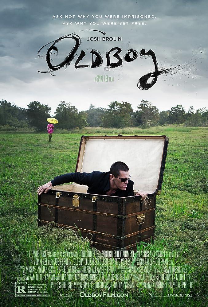 Poster film Oldboy.