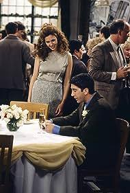 David Schwimmer and Jessica Hecht in Friends (1994)