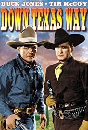Down Texas Way Poster