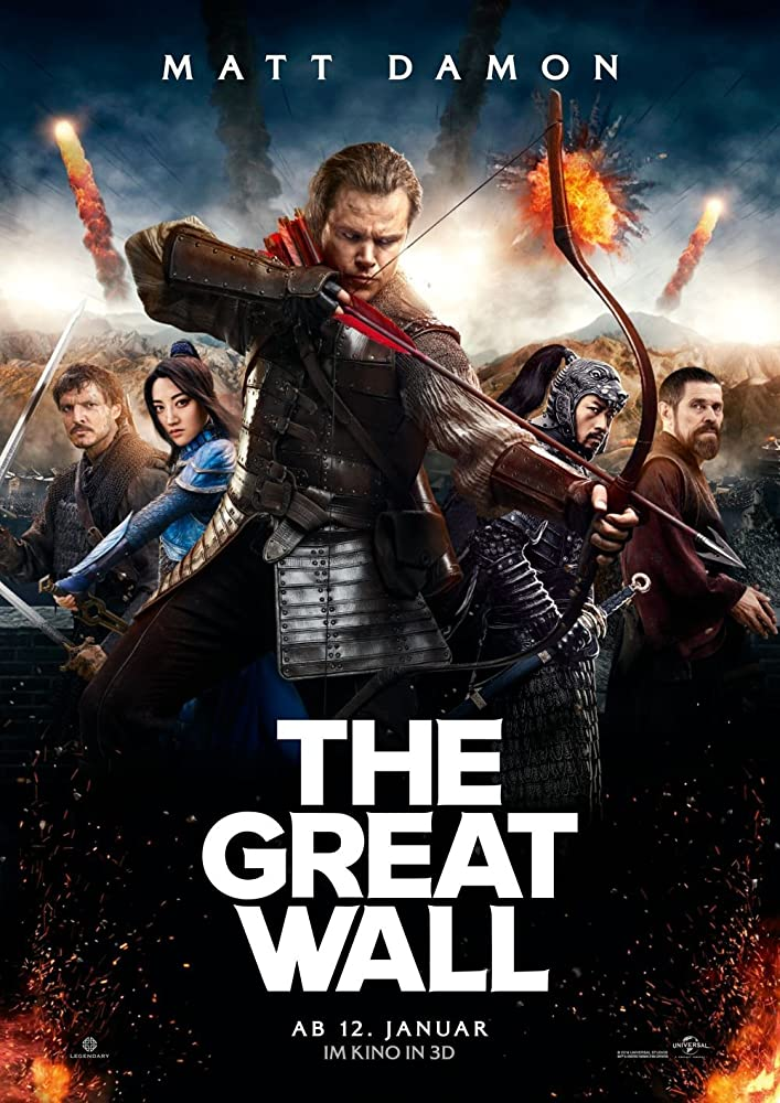 The Great Wall (2016) ORG Dual Audio Hindi 350MB BluRay 480p x264 ESubs