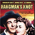 Randolph Scott and Donna Reed in Hangman's Knot (1952)