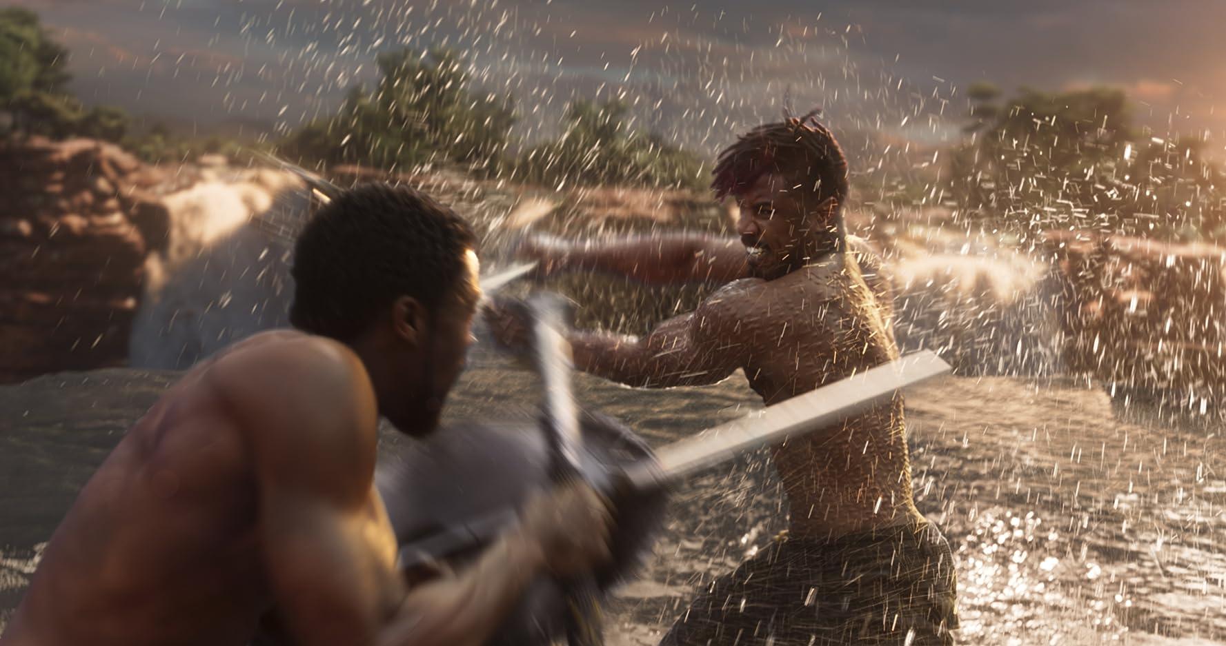 Killmonger kembali ke Wakanda untuk merebut tahta dari T'Challa.