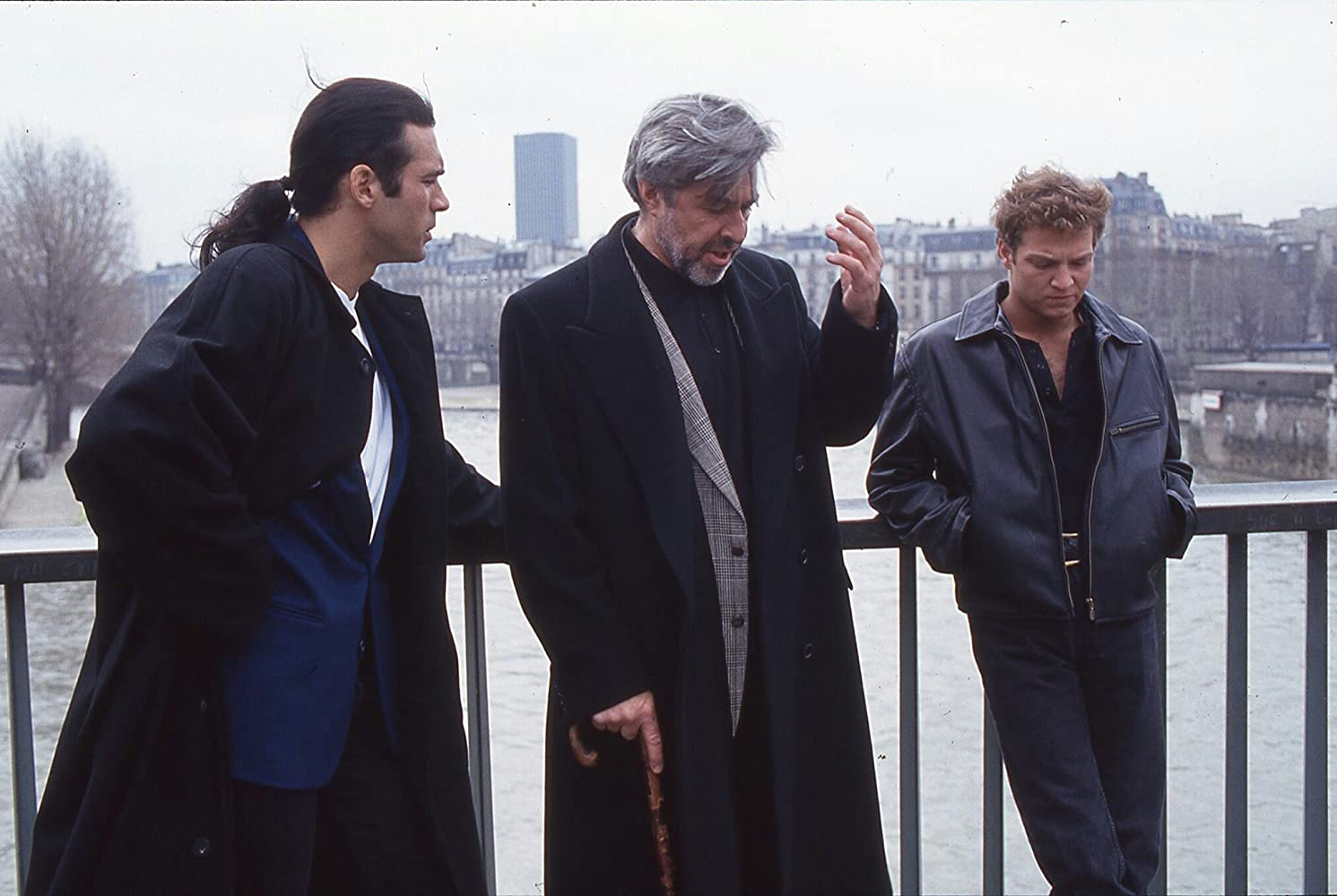 Adrian Paul, Jim Byrnes, and Stan Kirsch in Highlander (1992)