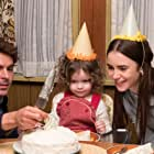 Macie Carmosino, Zac Efron, and Lily Collins in Extremely Wicked, Shockingly Evil and Vile (2019)