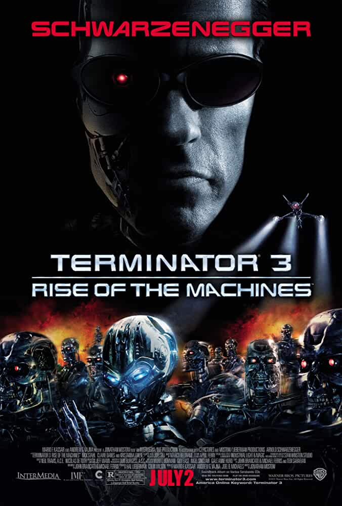 Arnold Schwarzenegger in Terminator 3: Rise of the Machines (2003)