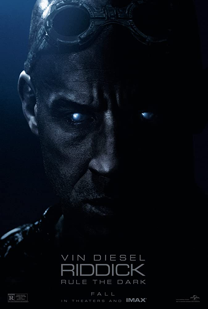 Riddick 2013 Dual Audio Hindi 450MB BluRay 480p ESubs Download