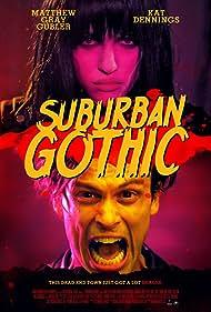 Kat Dennings and Matthew Gray Gubler in Suburban Gothic (2014)
