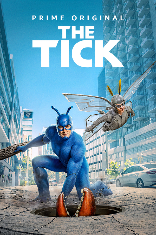 Tikas (2 Sezonas) / The Tick (Season 2)