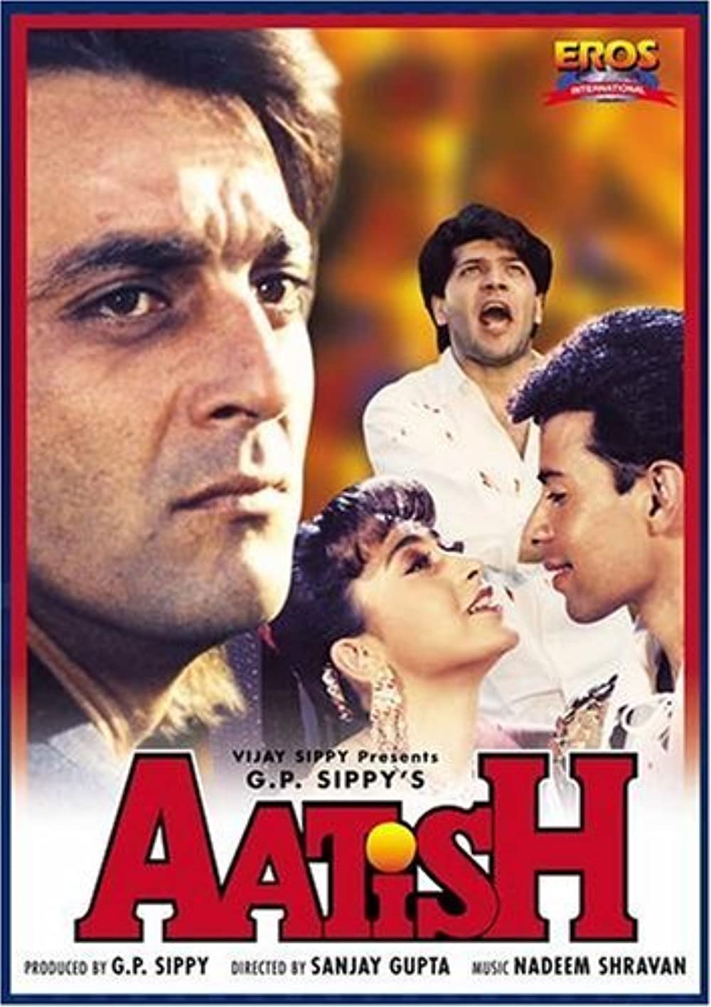 Aatish Feel the Fire 1994 Hindi 720p HDRip ESubs 1GB