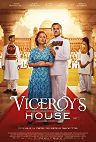 Gillian Anderson, Hugh Bonneville, Manish Dayal, and Huma Qureshi in Viceroy's House (2017)