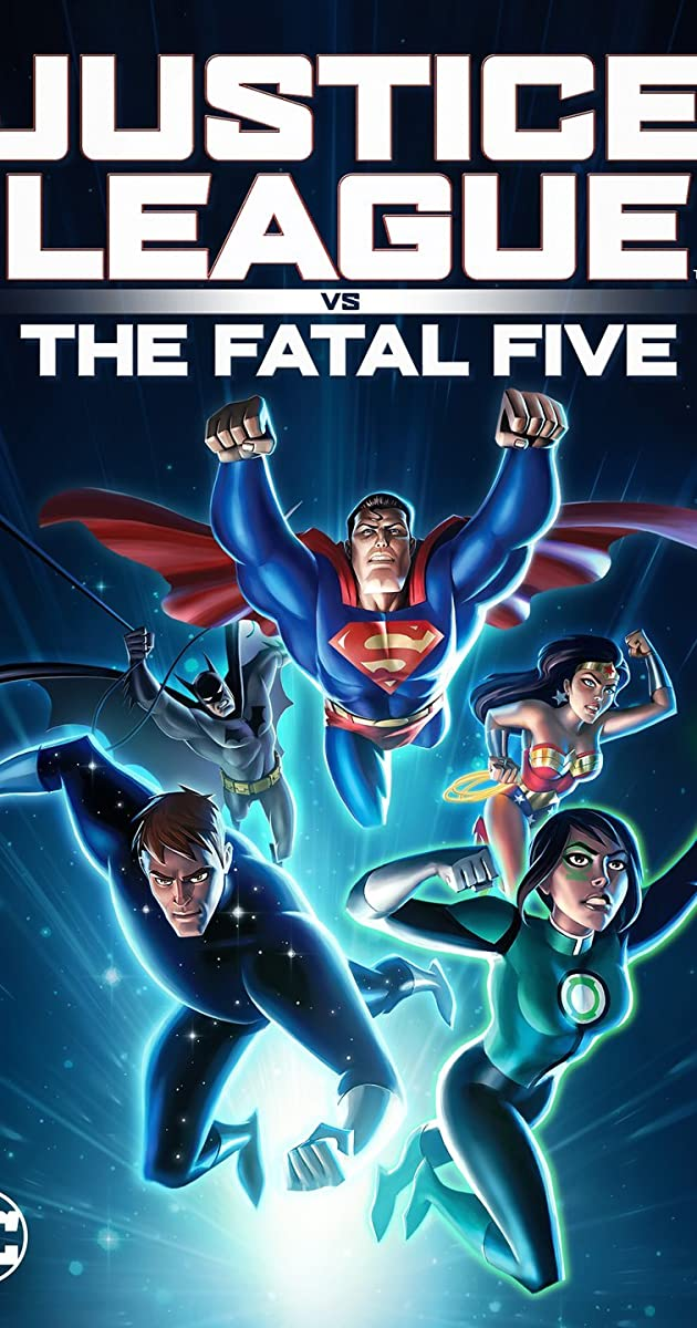 image poster from imdb - Justice League vs. the Fatal Five (2019) • Movie