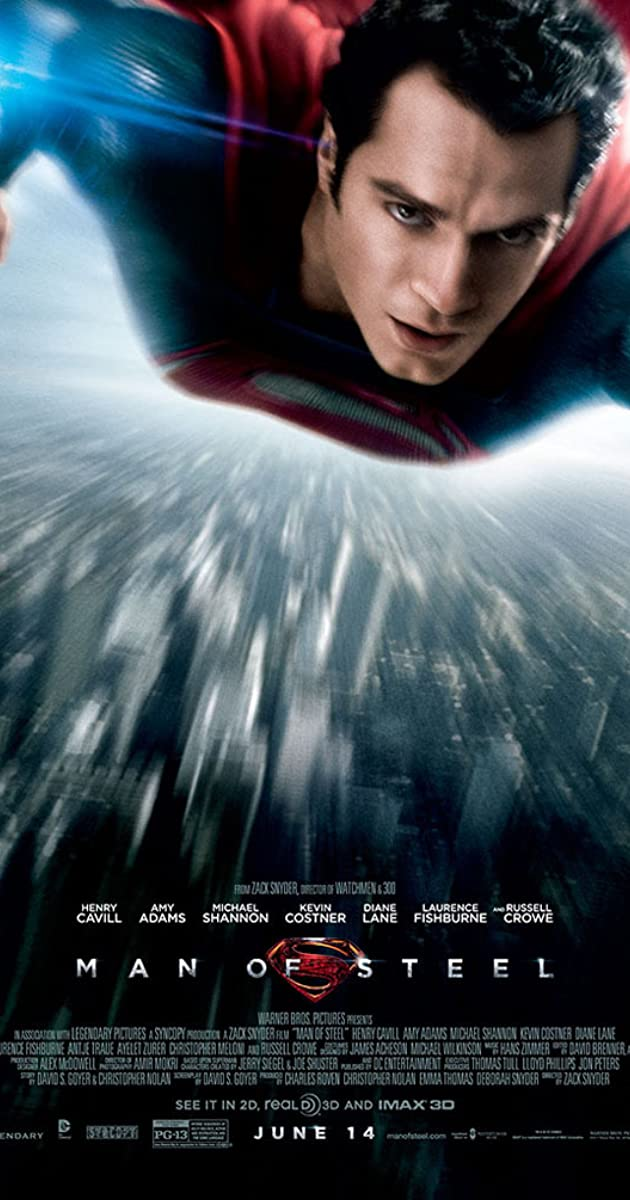Watch Full HD Movie Man of Steel (2013)
