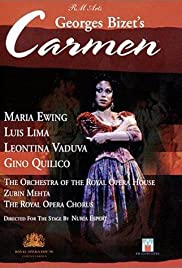 Carmen by Georges Bizet Poster