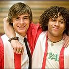 Corbin Bleu and Zac Efron in High School Musical 3: Senior Year (2008)