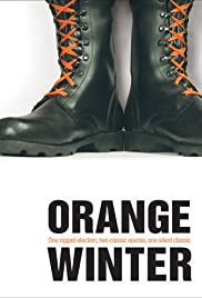 Orange Winter Poster