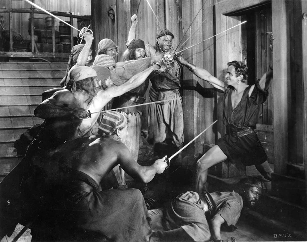 Douglas Fairbanks in The Black Pirate 1926