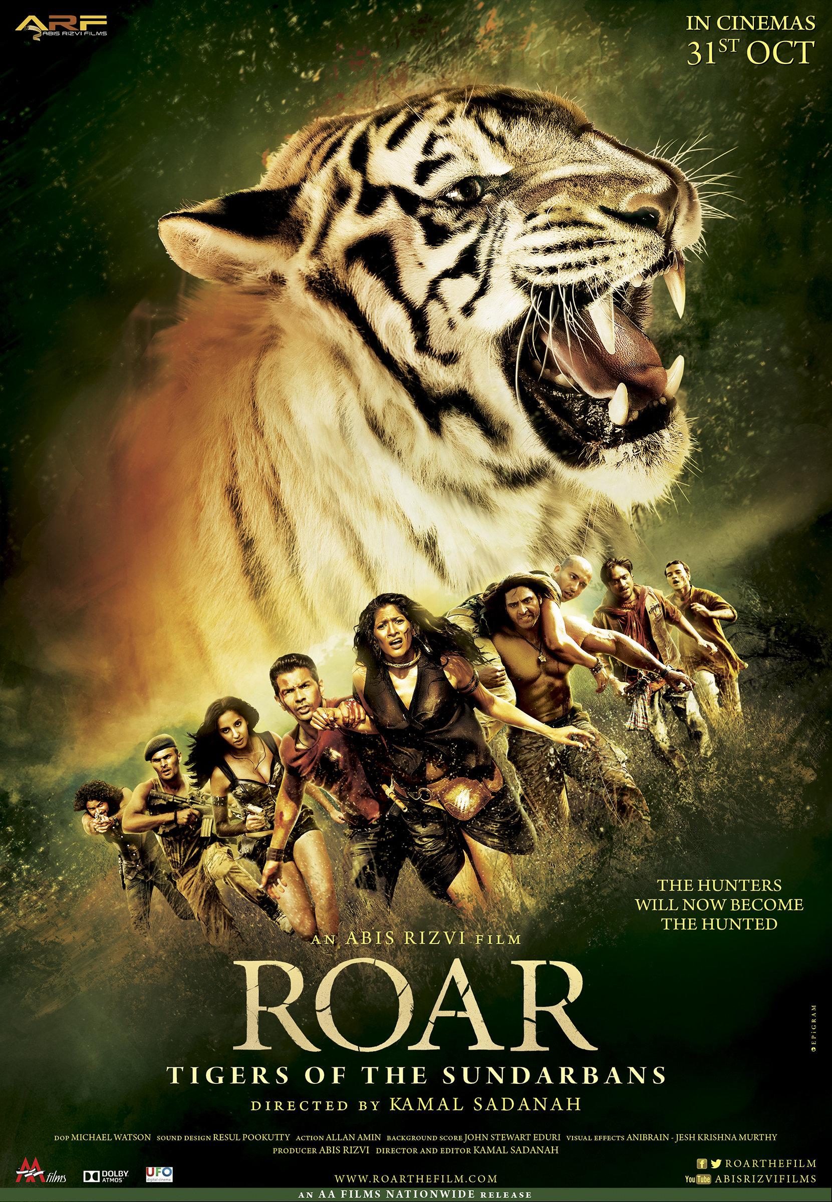 roar les tigres des sunderbans