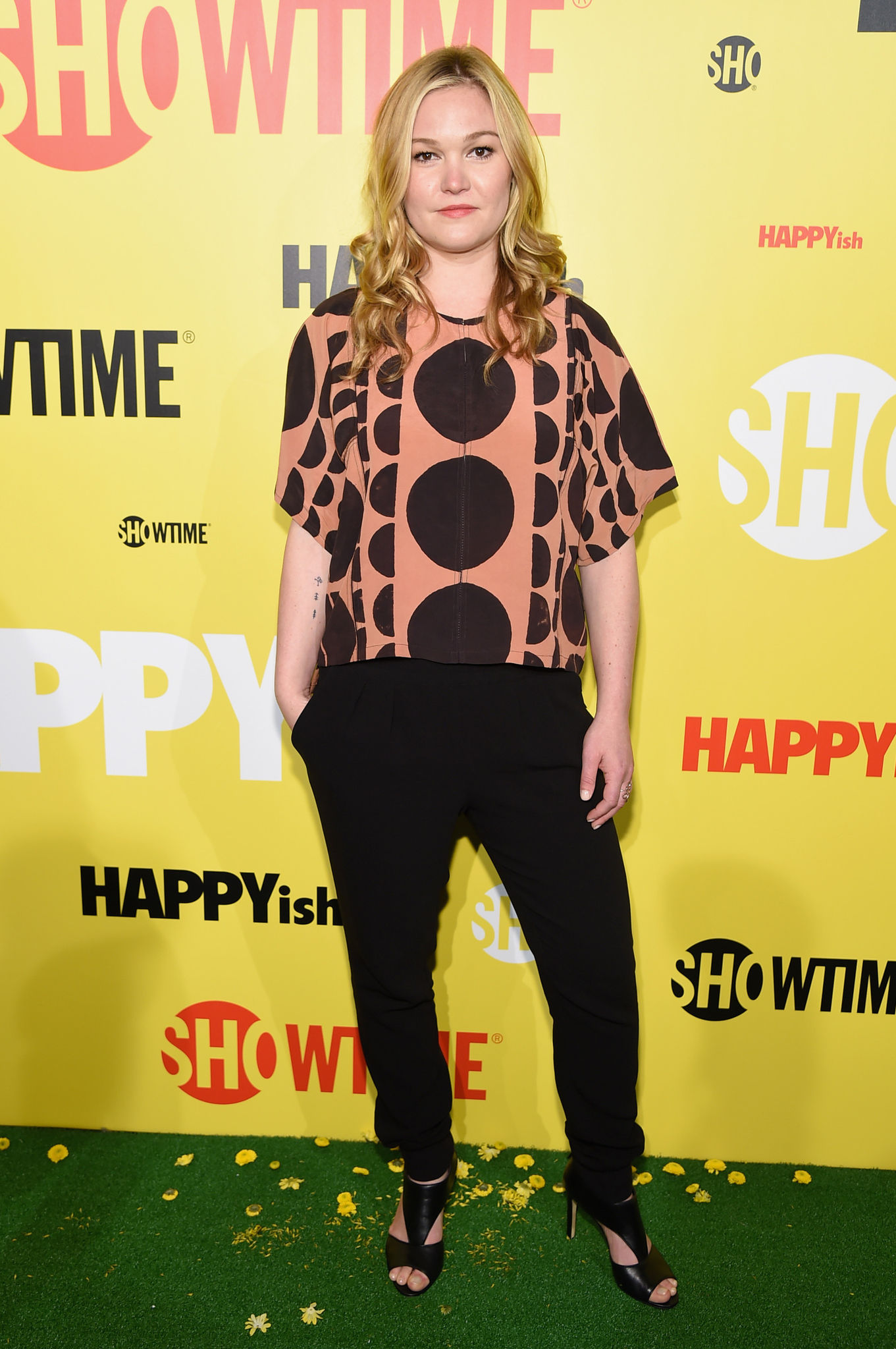Julia Stiles at an event for Happyish (2015)