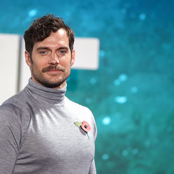 Henry Cavill at an event for Justice League (2017)