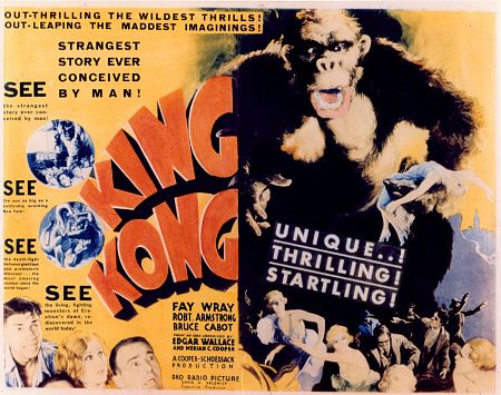 """King Kong"" Lobby Card 1933 RKO"
