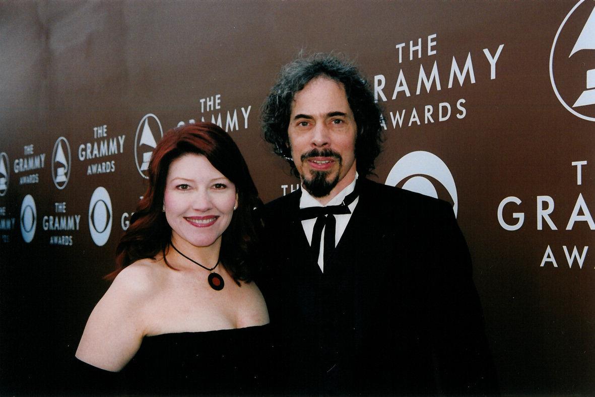 Suzy Brack & Rob Gillis arrive at the Grammy Awards® (Image courtesy of Lynn Orman Weiss)