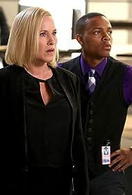 Patricia Arquette and Shad Moss in CSI: Cyber (2015)