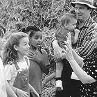 Shirley Douglas, George Hearn, Trevor Morgan, Kyla Pratt, Diana Rice, David Larouche, and Edouard Larouche in Barney's Great Adventure (1998)