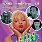 Spike Lee, Debi Mazar, Theresa Randle, and Isaiah Washington in Girl 6 (1996)
