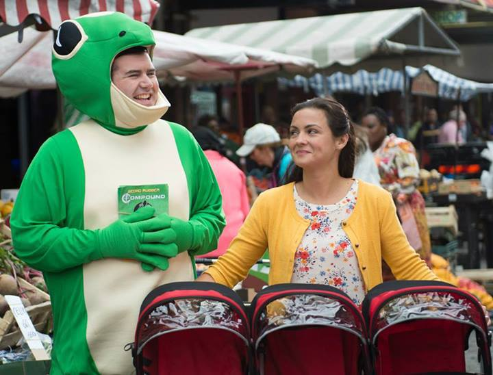 Fiona O'Carroll and Paddy Houlihan in Mrs. Brown's Boys D'Movie (2014)