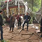 Hank Harris, Jennifer Morrison, Lana Parrilla, Colin O'Donoghue, Jared Gilmore, and Josh Dallas in Once Upon a Time (2011)
