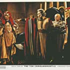 Charlton Heston, Yul Brynner, Douglass Dumbrille, and Henry Wilcoxon in The Ten Commandments (1956)