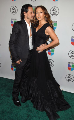 Jennifer Lopez and Marc Anthony at an event for The 48th Annual Grammy Awards (2006)